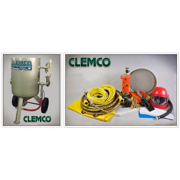 6 cuft Clemco Blast Package