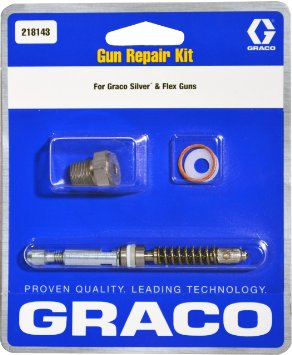 Graco Gun Repair Kit, silver & flex guns