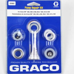 Graco Pump Repair kit for EM 380 & 490, Ultra 400, 433 & 500