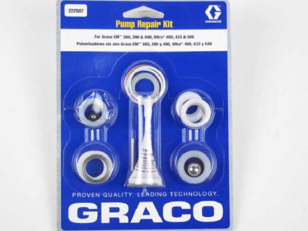 Graco Pump Repair kit for EM 380 & 490, Ultra 400, 433 & 500