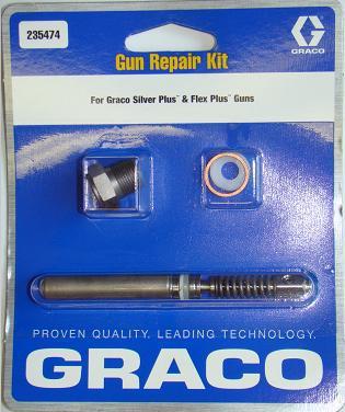 Graco Gun Repair Kit, Silver Plus & Flex Plus