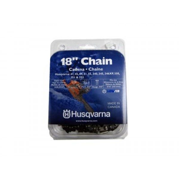 "Husqvarna 18"" chain"