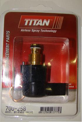 Titan Assy, By-pass valve.