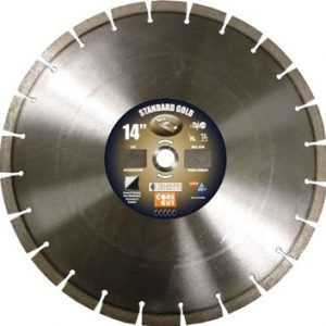 "Standard Gold 14"" High Speed Diamond Blade"
