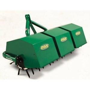 "Ryan Tracaire Aerator-3PT Hitch 3/4"" Tines"