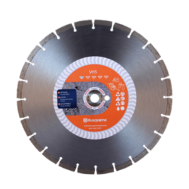 "Husqvarna 12"" Diamond Concrete Saw Blade VH5"